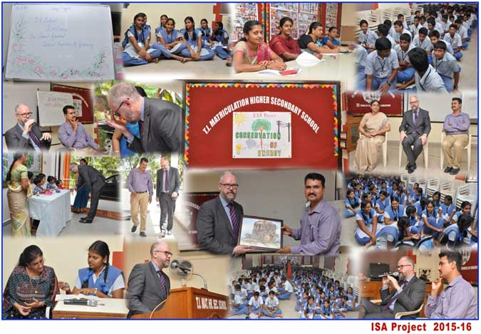 German Consul Visits Our School